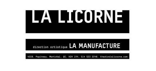 logo du théâtre La Licorne