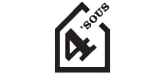 logo du théâtre 4'sous