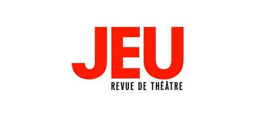 logo de JEU, la revue de théâtre